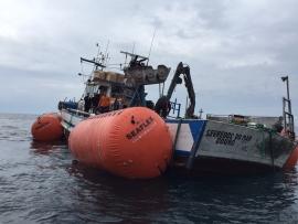 Sucesso no Resgate de Embarcação