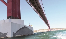 Inspecção Pilares da Ponte 25 de Abril